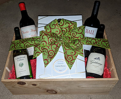 Wine Connoisseur Gift Crate