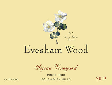 2017 Evesham Wood Pinot Noir Sojeau Vineyard