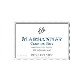"""Regis Bouvier Marsannay """"Clos de Roy"""" Pinot Noir"""
