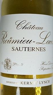 (375ml) 2017 Chateau Roumieu-Lacoste Sauternes