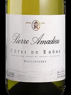 Pierre Amadieu Cotes du Rhone Blanc Roulepierre