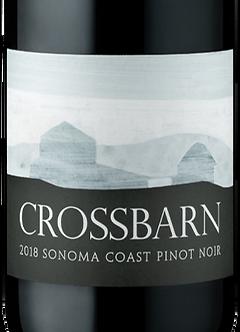2018 Crossbarn Sonoma Coast Pinot Noir by Paul Hobbs