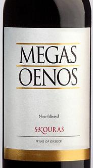 """2014 Skouras """"Megas Oenos"""" Red Blend Aghiorghitiko/Cabernet Sauvignon, Greece"""