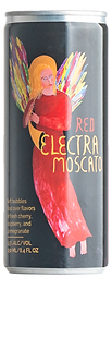 Quady Red Electra Moscato 4pk 250ml (Cans)
