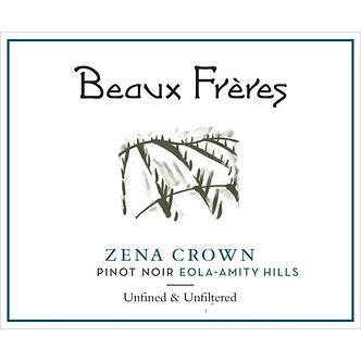 2017 Beaux Freres Zena Crown Eola-Amity Hills Pinot Noir