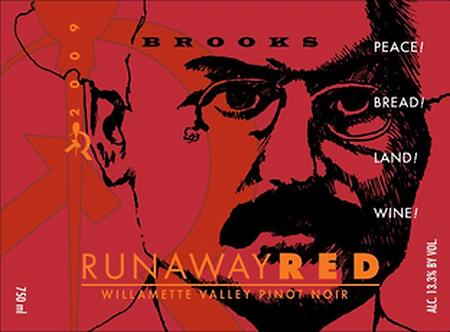 "Brooks ""Runaway Red"" Pinot Noir Willamette Valley 2019"