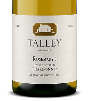 "Talley Vineyards ""Rosemary's Vineyard"" Estate Bottled Chardonnay"