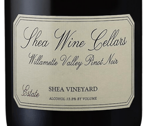 """2016 Shea Wine Cellars """"Shea Vineyard"""" Willamette Valley Pinot Noir"""