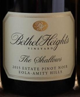 "Bethel Heights Beyond the Blocks ""The Shallows"" Pinot Noir 2015"