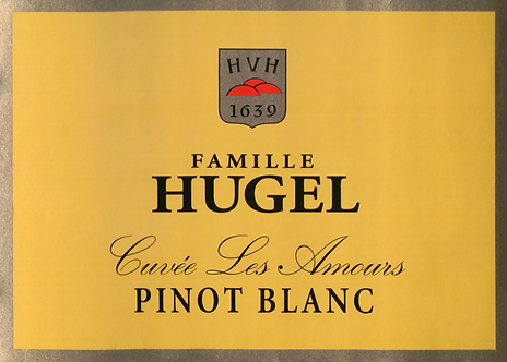 2018 Famille Hugel Pinot Blanc Cuvee Les Amours