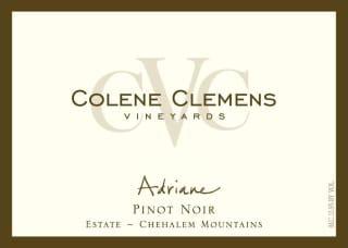 "Colene Clemens ""Adriane"" Pinot Noir 2018"