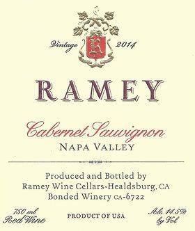 2014 Ramey Napa Valley Cabernet Sauvignon