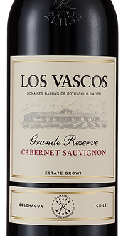 """2017 Los Vascos Cabernet Sauvignon """"Grande Reserve"""", Colchagua Chile"""