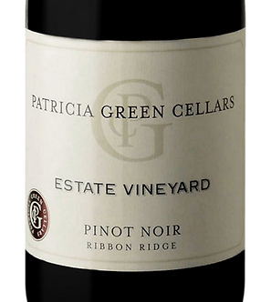 Patricia Green Estate Vineyard Ribbon Ridge Pinot Noir 2019