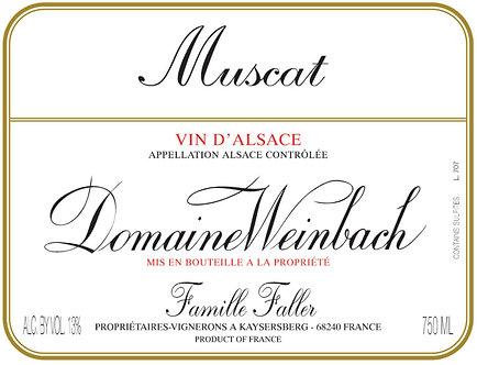 2018 Domaine Weinbach Muscat