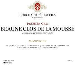 2018 Bouchard Pere & Fils Beaune Clos de la Mousse Premier Cru