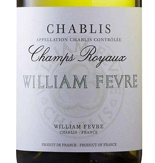 2018 William Fevre Chablis Champs Royaux Chardonnay