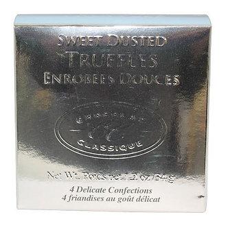 Chocolat Classique® Silver Metallic Square Truffle Box