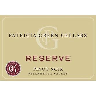 2018 Patricia Green Cellars Reserve Willamette Valley Pinot Noir