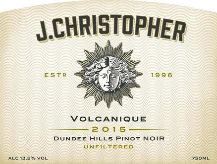 "J. Christopher ""Volcanique"" Dundee Hills Pinot Noir"