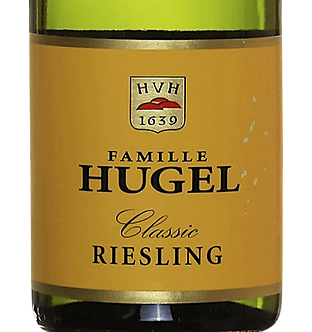 Famille Hugel Classic Dry Riesling - Alsace, France