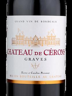 2016 Château de Cérons Graves Rouge
