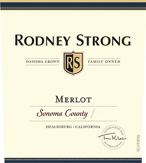 Rodney Strong Vineyards Sonoma County Merlot