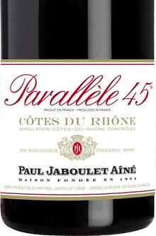 375ml/Half Bottle: Jaboulet Cotes du Rhone Parallele 45 Rouge