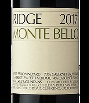 2017 Monte Bello Cabernet Sauvignon