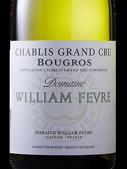 2016 William Fevre Chablis Bougros Grand Cru Chardonnay
