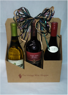 Six Pack of Wine: Starting at $65