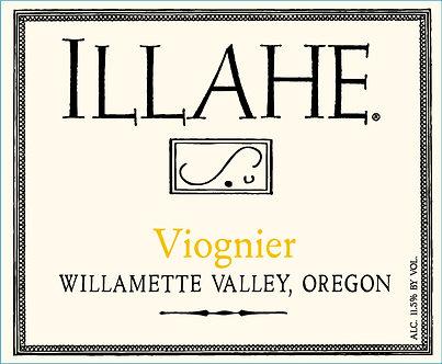 2019 Illahe Viognier Willamette Valley Oregon