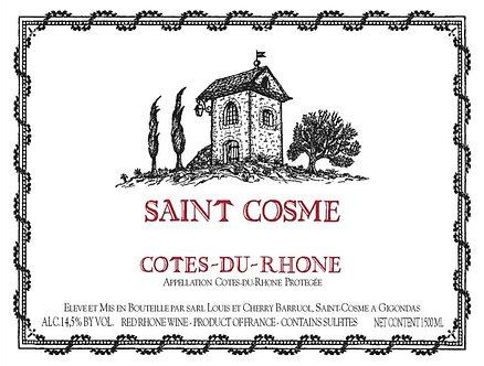 1.5 Liter - 2019 Saint Cosmo Cotes-Du-Rhone