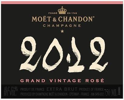 2012 Moet & Chandon Vintage Rose Champagne