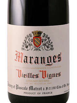 Thierry et Pascale Matrot Maranges V.V. Pinot Noir