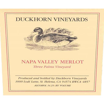 "2017 Duckhorn ""Three Palms Vineyard"" Napa Valley Merlot"