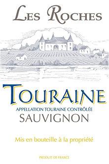 2019 Les Vignerons des Coteaux Romanais Les Roches Touraine Sauvignon Blanc