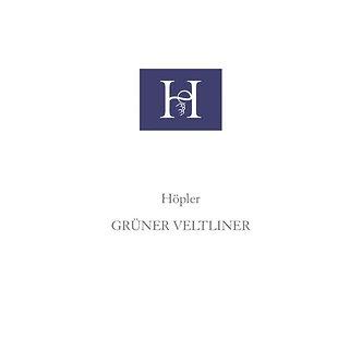 2018 Hopler Gruner Veltliner, Austria