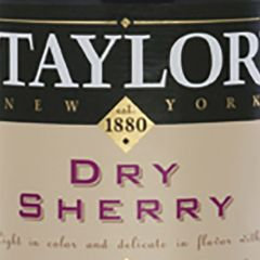 Taylor New York Dry Sherry
