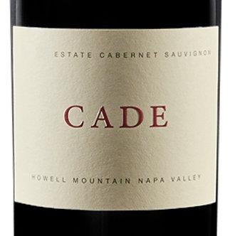 2017 CADE Howell Mountain Estate Cabernet Sauvignon