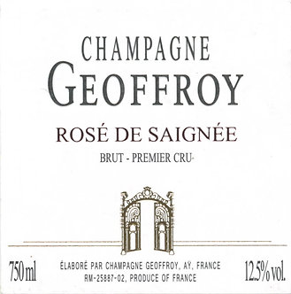 NV Geoffrey Rose de Saignee Brut