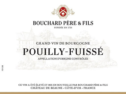 2018 Bouchard Pere & Fils Pouilly-Fuisse Chardonnay