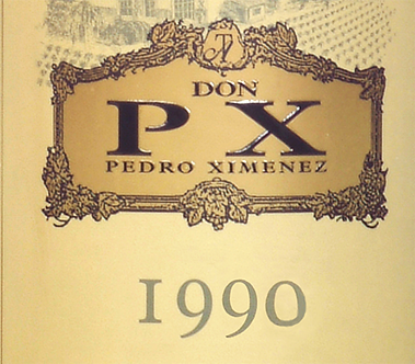 375ml/Half Bottle: 1990 Toro Albala Don PX Pedro Ximenez