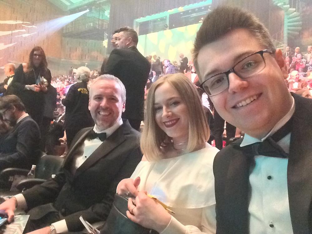 From Left to Right, Ben, Lauren & I