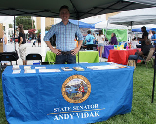 State Senator Andy Vidak