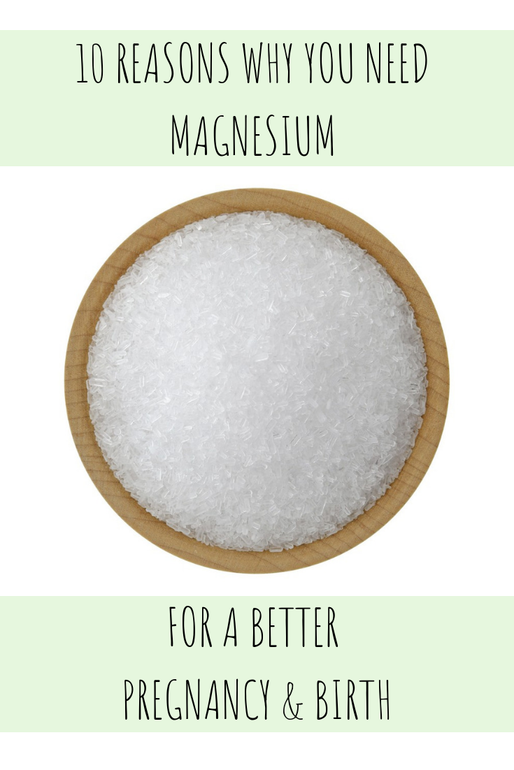 magnesium for pregnancy and birth