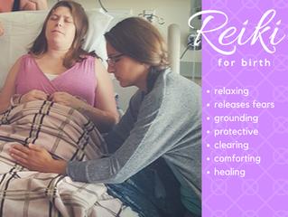 Reiki during childbirth