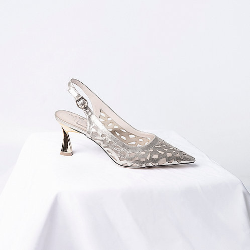 casual pumps 3 inch crystal shoes
