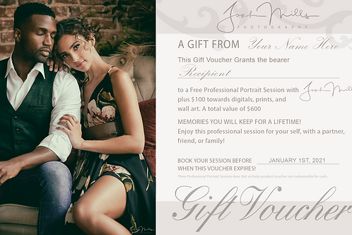 Give the Gift of Professional Photography!