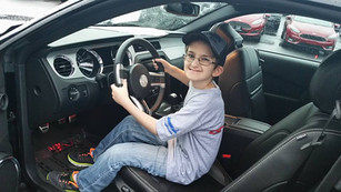 Eli picks out his mustang
